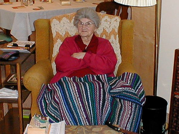 Huge Grandma Chair